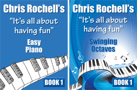 Piano Books by Chris Rochell